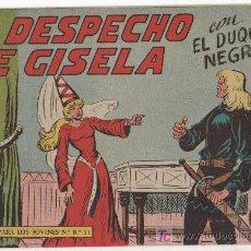 Tebeos: EL DUQUE NEGRO Nº 26 ORIGINAL , MUY NUEVO, EDI. MAGA 1958 POR JOSÉ ORTIZ Y MANUEL GAGO. Lote 11069950