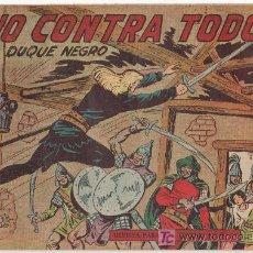 Tebeos: EL DUQUE NEGRO Nº 27 ORIGINAL, MUY NUEVO, EDITORIAL MAGA 1958 POR MANUEL GAGO Y JOSÉ ORTIZ. Lote 11069953