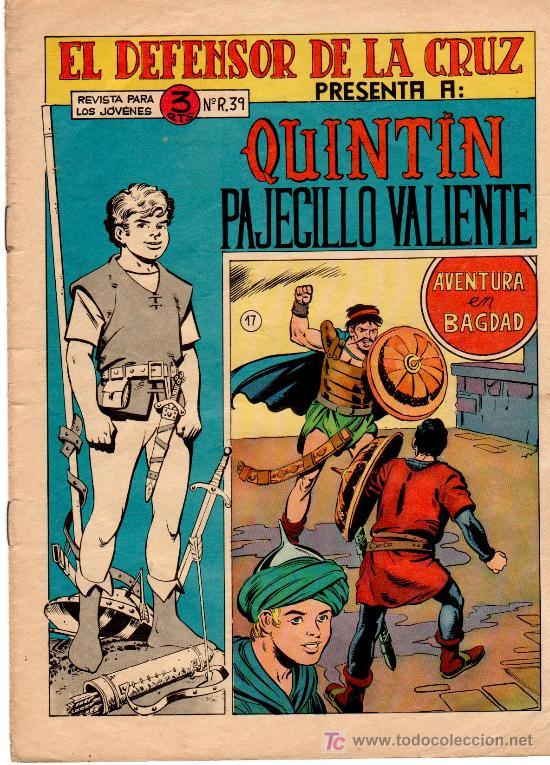 QUINTIN EL PAJECILLO VALIENTE ORIGINAL, LOTE DE 8 NºS ESTÁ EL ÚLTIMO ,MUY DIFICIL,1965 MAGA, GIGARPE (Tebeos y Comics - Maga - Otros)