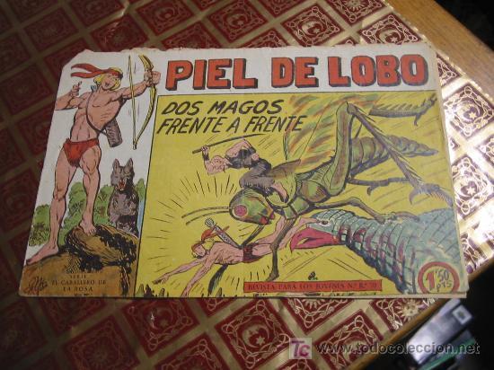 PIEL DE LOBO,N-22 (Tebeos y Comics - Maga - Piel de Lobo)