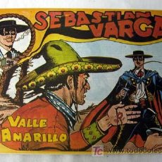 Tebeos: SEBASTIAN VARGAS Nº 6 EL VALLE AMARILLO ED MAGA BO 1982. Lote 109271850