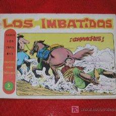 Livros de Banda Desenhada: LOS IMBATIDOS. Nº 27 - COMANCHES - EDITORIAL MAGA.- 1963 - ORIGINAL TEBEOS DEL OESTE. Lote 27455984