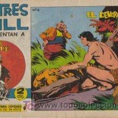 Tebeos: LOS TRES BILL PRESENTA A SAHIB TIGRE (MAGA) ORIGINAL 1964 LOTE. Lote 26422327