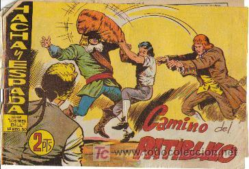 HACHA Y ESPADA ( MAGA ) ORIGINALES 1961-62 LOTE (Tebeos y Comics - Maga - Otros)