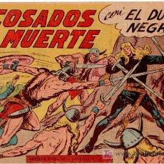 Tebeos: EL DUQUE NEGRO ORIGINAL Nº 32 - 1958 MAGA POR MANUEL GAGO Y JOSÉ ORTIZ. Lote 11069963