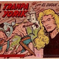 Tebeos: EL DUQUE NEGRO ORIGINAL Nº 34 - 1958 MAGA, POR MANUEL GAGO Y JOSÉ ORTIZ. Lote 11069913