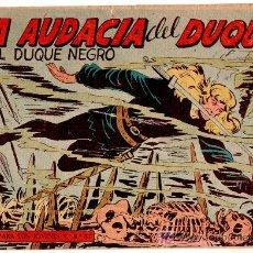 Tebeos: EL DUQUE NEGRO ORIGINAL Nº 35 - 1958 EDITORIAL MAGA POR MANUEL GAGO Y JOSÉ ORTIZ. Lote 11069981