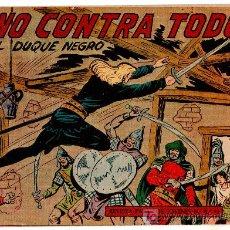 Tebeos: EL DUQUE NEGRO ORIGINAL Nº 27 - 1958 EDITORIAL MAGA POR MANUEL GAGO Y JOSÉ ORTIZ. Lote 11069956