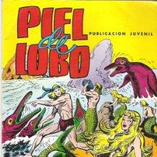 Tebeos: PIEL DE LOBO EN LUCHAN LOS SAURIOS - NUM 10 **** 1980. Lote 7502770