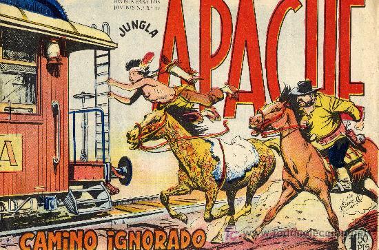 APACHE Nº46 (CUADERNILLO ORIGINAL) EDITORIAL MAGA. DIBUJANTE: LUIS BERMEJO (Tebeos y Comics - Maga - Apache)