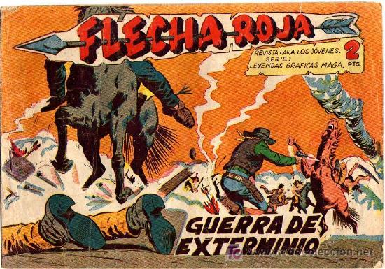 FLECHA ROJA Nº 32 (Tebeos y Comics - Maga - Flecha Roja)