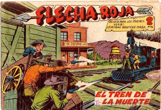 FLECHA ROJA Nº 31 (Tebeos y Comics - Maga - Flecha Roja)