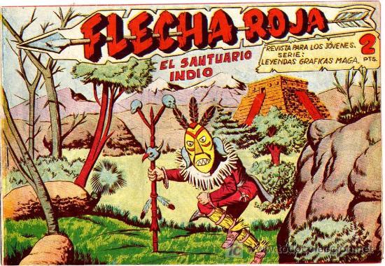 FLECHA ROJA Nº 24 (Tebeos y Comics - Maga - Flecha Roja)