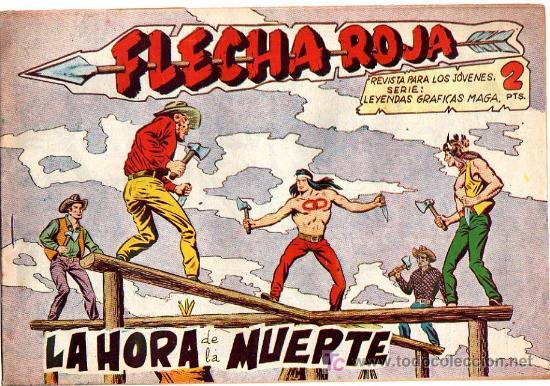FLECHA ROJA Nº 19 (Tebeos y Comics - Maga - Flecha Roja)