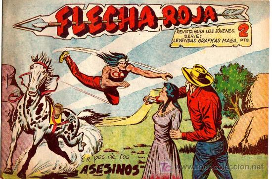 FLECHA ROJA Nº 17 (Tebeos y Comics - Maga - Flecha Roja)