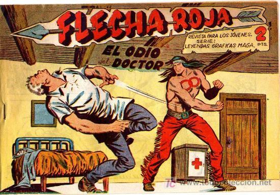 FLECHA ROJA Nº 16 (Tebeos y Comics - Maga - Flecha Roja)