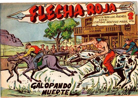 FLECHA ROJA Nº 15 (Tebeos y Comics - Maga - Flecha Roja)