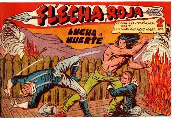 FLECHA ROJA Nº 13 (Tebeos y Comics - Maga - Flecha Roja)