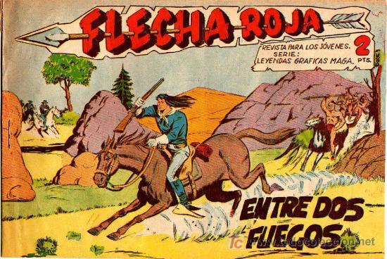 FLECHA ROJA Nº 9 (Tebeos y Comics - Maga - Flecha Roja)