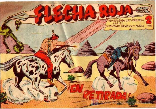 FLECHA ROJA Nº 7 (Tebeos y Comics - Maga - Flecha Roja)