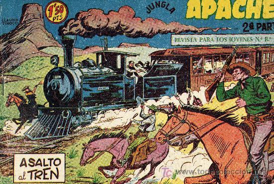 APACHE Nº13 (2º ÉPOCA) DIBUJOS DE CLAUDIO TINOCO. EDITORIAL MAGA. CUADERNILLO ORIGINAL (Tebeos y Comics - Maga - Apache)