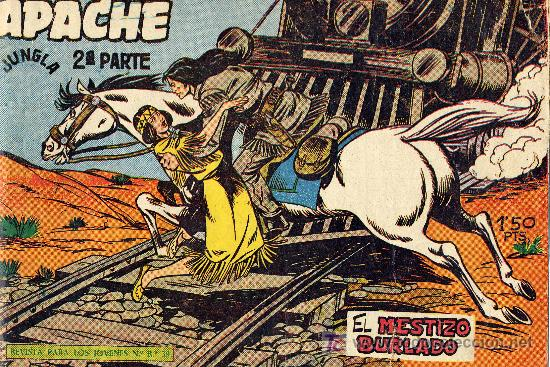 APACHE Nº15 (2º EPOCA) DIBUJOS DE CLAUDIO TINOCO. CUADERNILLO ORIGINAL (Tebeos y Comics - Maga - Apache)