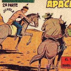 Tebeos: APACHE Nº 61 (2ºPARTE) DIBUJOS DE CLAUDIO TINOCO. CUADERNILLO ORIGINAL. Lote 7545365