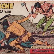 Tebeos: EDITORIAL MAGA. APACHE II-74.COMIC ORIGINAL. AÑO 1958 - PORTADA DE CLAUDIO TINOCO. Lote 20934370