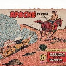 Tebeos: EDITORIAL MAGA. APACHE II-73.COMIC ORIGINAL. AÑO 1958 - PORTADA DE CLAUDIO TINOCO. Lote 25234487