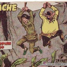 Tebeos: APACHE II-69.COMIC ORIGINAL. AÑO 1958 - PORTADA DE CLAUDIO TINOCO.EDITORIAL MAGA. Lote 26836728