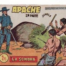 Tebeos: APACHE II-63.COMIC ORIGINAL. AÑO 1958 - PORTADA DE CLAUDIO TINOCO.EDITORIAL MAGA. Lote 24635690