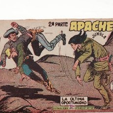 Tebeos: APACHE II-59.COMIC ORIGINAL. AÑO 1958 - PORTADA DE CLAUDIO TINOCO.EDITORIAL MAGA. Lote 27124030
