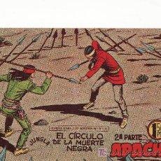 Tebeos: APACHE II-55.COMIC ORIGINAL. AÑO 1958 - PORTADA DE CLAUDIO TINOCO.EDITORIAL MAGA. Lote 24023863