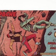 Tebeos: APACHE II-54 COMIC ORIGINAL. AÑO 1958 - PORTADA DE CLAUDIO TINOCO.EDITORIAL MAGA. Lote 19519808