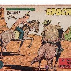 Tebeos: APACHE 2ºPARTE II-61. COMIC ORIGINAL 1958. EDITORIAL MAGA.. Lote 24424543