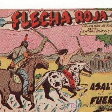 Tebeos: FLECHA ROJA Nº 12 . ASALTO AL FUERTE. COMIC ORIGINAL EDITORIAL MAGA.. Lote 20790938