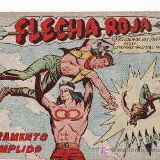 Tebeos: FLECHA ROJA Nº 20. COMIC ORIGINAL EDITORIAL MAGA.. Lote 27543967