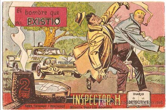 INSPECTOR H Nº 7 ---- MAGA --- ORIGINAL 1961- LEER (Tebeos y Comics - Maga - Otros)