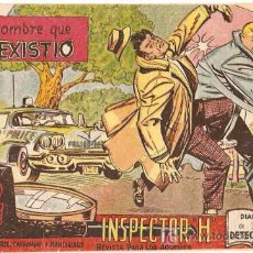 Tebeos: INSPECTOR H Nº 7 ---- MAGA --- ORIGINAL 1961- LEER. Lote 7769890