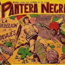 Livros de Banda Desenhada: PANTERA NEGRA - Nº 14 - ED. MAGA 1.958, ORIGINAL. Lote 198604237