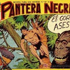 Livros de Banda Desenhada: PANTERA NEGRA - Nº 19 - ED. MAGA 1.958, ORIGINAL. Lote 14867106