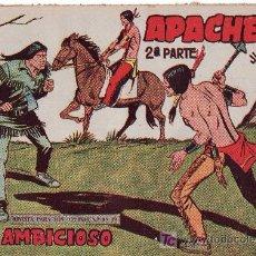 Tebeos: APACHE 2ªPARTE-AÑO 1958. COMIC ORIGINAL Nº II-53 EL AMBICIOSO. Lote 26307628