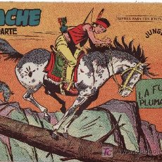 Tebeos: APACHE 2ªPARTE-AÑO 1958. COMIC ORIGINAL Nº II-44 LA FUGA DE PLUMA ROJA. Lote 24101693