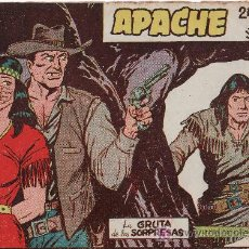 Tebeos: APACHE 2ªPARTE-AÑO 1958. COMIC ORIGINAL Nº II-30 LA GRUTA DE LAS SORPRESAS. Lote 25913042