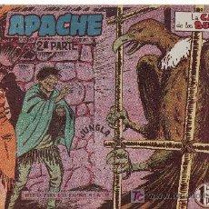 Tebeos: APACHE 2ªPARTE-AÑO 1958. COMIC ORIGINAL Nº II-26 LA CASA DE LOS BUITRES. Lote 24587103