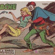 Tebeos: APACHE 2ªPARTE-AÑO 1958. COMIC ORIGINAL Nº II-25 LA SOMBRA MISTERIOSA. Lote 27010684