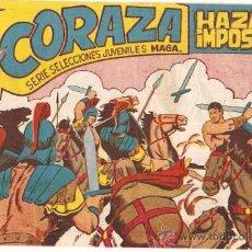 Tebeos: CORAZA Nº 54 --- MAGA ---- ORIGINAL. Lote 26267058