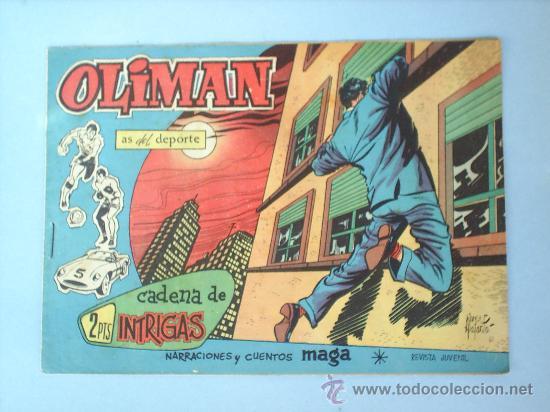 OLIMAN 41 REAL JAEN CLUB DE FUTBOL (Tebeos y Comics - Maga - Oliman)
