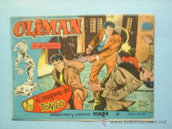 OLIMAN N.50 REAL GIJON CLUB DE FUTBOL (Tebeos y Comics - Maga - Oliman)