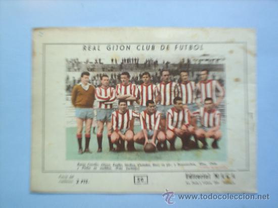 Tebeos: OLIMAN N.50 real gijon club de futbol - Foto 2 - 17269707